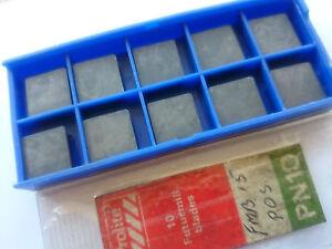 10 Prolite Carbide Tips Spgn 120408 Pn10 (spun 120408 12 04 08 Fmb15pos Spgn-afficher Le Titre D'origine La Qualité D'Abord