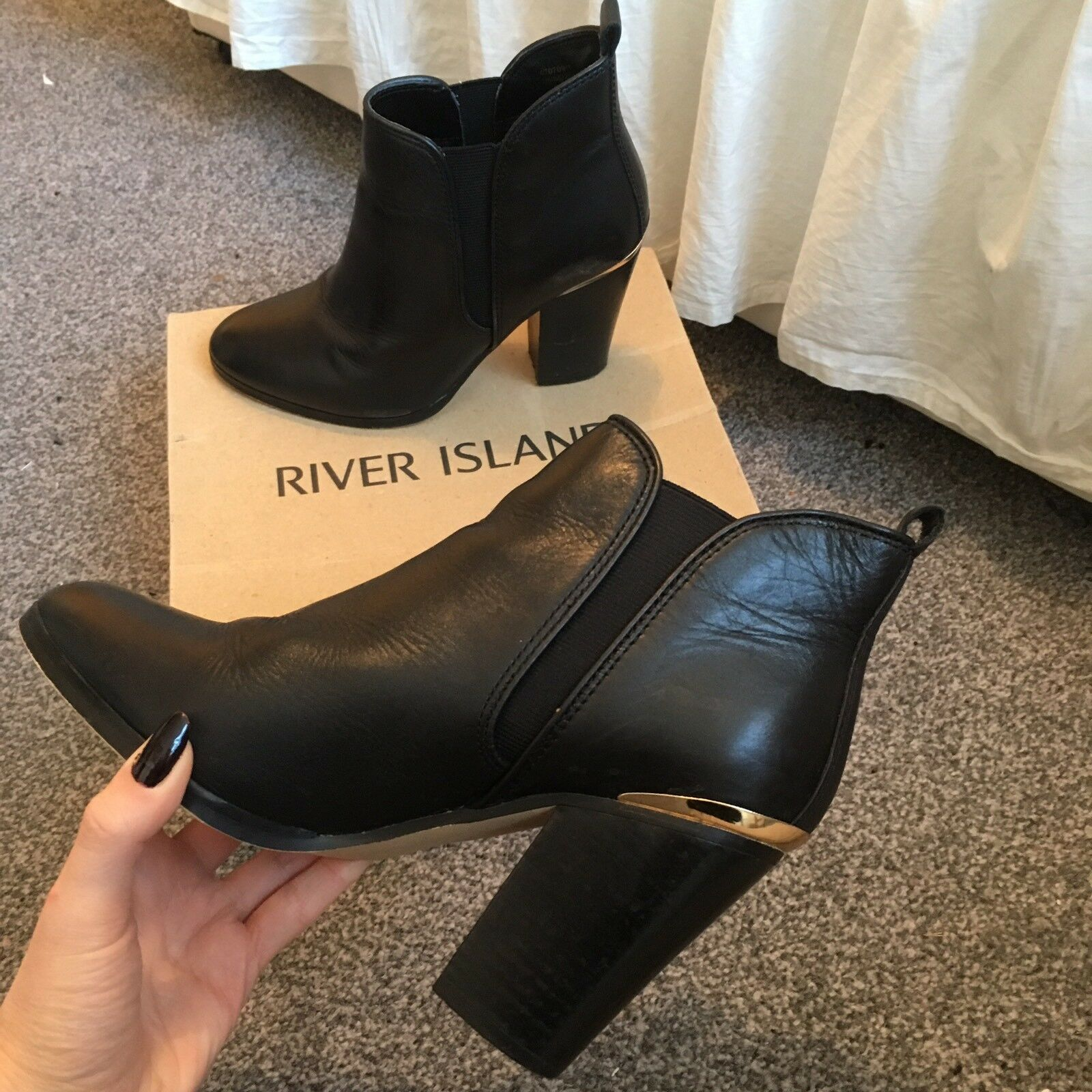 River Island Ankle Boots Size 4