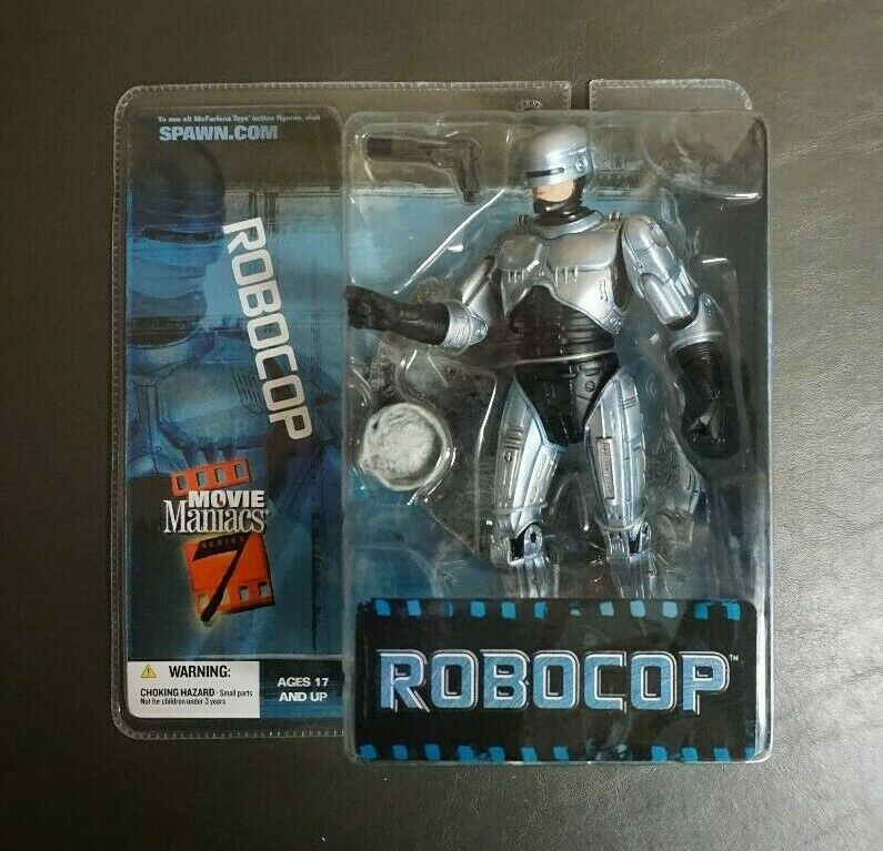 Robocop 2004 Mcfarlane Toys Movie Maniacs 7 Moc gv