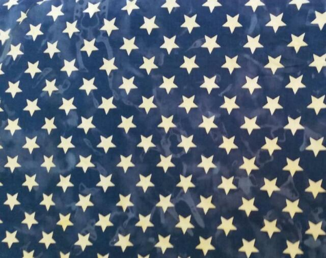 Quality Batik Fabric - Star Night - 9 Metres x 110cm - Free Post !!!