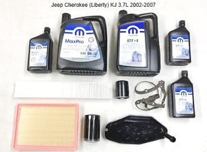 Para-Jeep-Cherokee-Liberty-KJ-3-7L-Grande-Kit-de-Mantenimiento-10W30-2002-2007