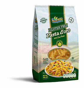 500g-Packung-Sam-Mills-Pasta-d-039-oro-Fusilli-Glutenfrei