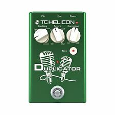 TC-Helicon Duplicator Vocal Effects Stompbox