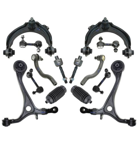 Sway Bar End Link 14 Pc Suspension Kit for Honda Accord Control Arms Tie Rods