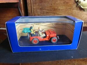 Tintin-Willy-039-s-MB-Jeep-from-Land-of-Black-Gold-No-44