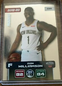Zion Williamson New Orleans Pelicans Panini NBA Europe 2019-20 C96 Rookie Card