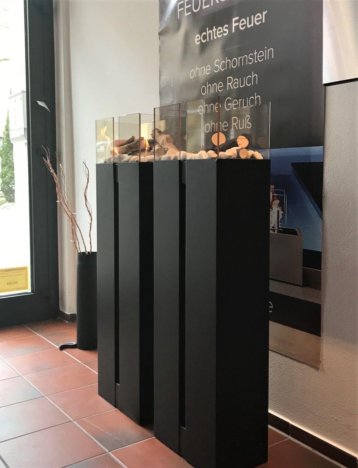 TÜV - Feuerstelle mit Glas Biokamin Bioethanol Kamin Deko Deko Deko Kamin - TÜV GEPRÜFT 6acde0