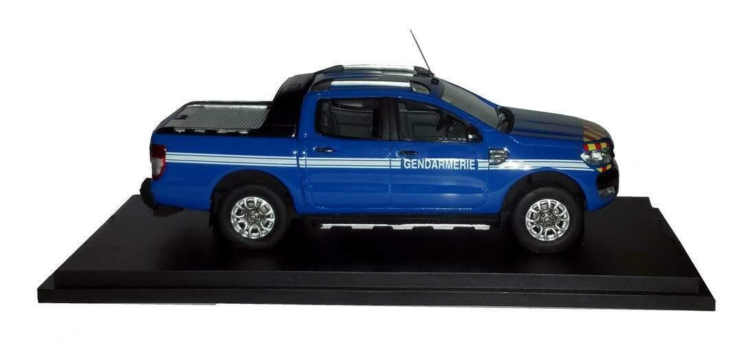 Auto Ford Ranger Pick Up Gendarmerie 2016 Alarm 1 43 Ausgabe Begrenzte