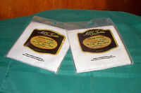 Set Of 2 Oatmeal Bread Covers Cloths To Cross Stitch 18 X18 14 Count