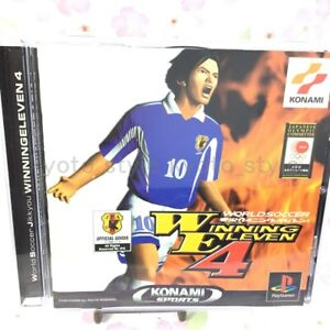 USED-PS1-PlayStation-1-Winning-Eleven-4-05518-JAPAN-IMPORT