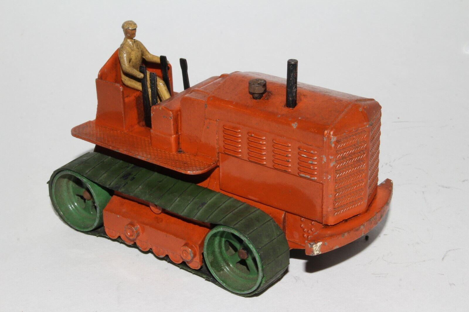 1950's Dinky Supertoy Heavy Tractor, Original