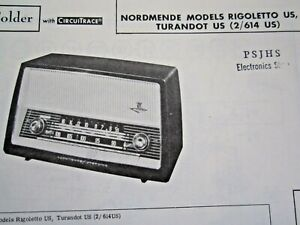 Rigoletto nordmende Manual: RIGOLETTOFA55