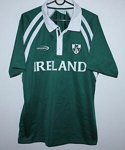 the latest 32fbe af375 Details about Ireland National rugby Union Team shirt jersey Size M