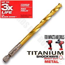 """Milwaukee 48-89-4612 Shockwave 15//64/"""" Titanium Twist Drill Bit *BRAND NEW*"""