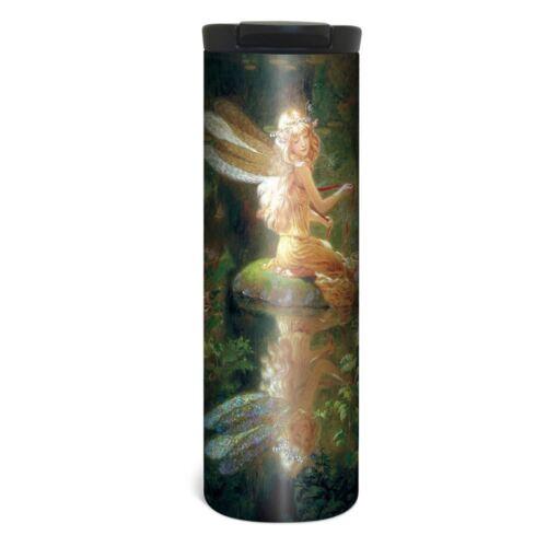 17 oz Stainless Steel Fairy Reflection Barista Tumbler Travel Mug