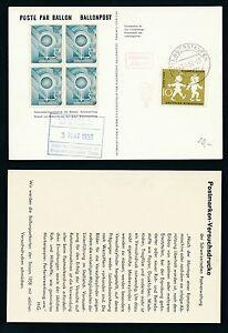 62091-Ballonpost-FDA-Dolder-Schlieren-Oberstaufen-3-5-58-Var-weisser-Karton