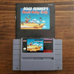 Road-Runner-039-s-Death-Valley-Rally-Super-Nintendo-SNES-Tested