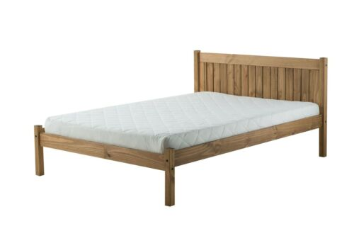 Birlea Rio Corona Mexican Solid Pine Wood 135cm 4FT6 Double bed Frame Bedstead