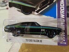 Hot Wheels '73 Ford Falcon XB HW Showroom Black