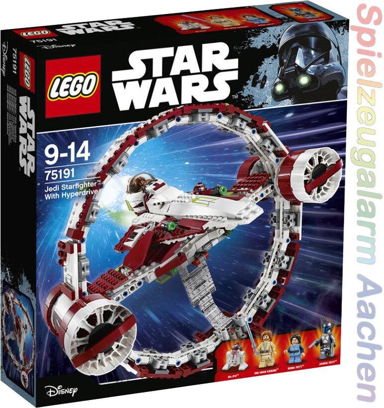 Quand tu fête la la la nouvelle année, je suis heureux. LEGO ® Star Wars 75191 Jedi Starfighter ™   Hyperdrive 79287a