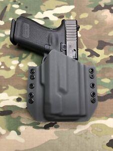 Armor Gray Kydex Light Bearing Holster for Glock 19 GEN5