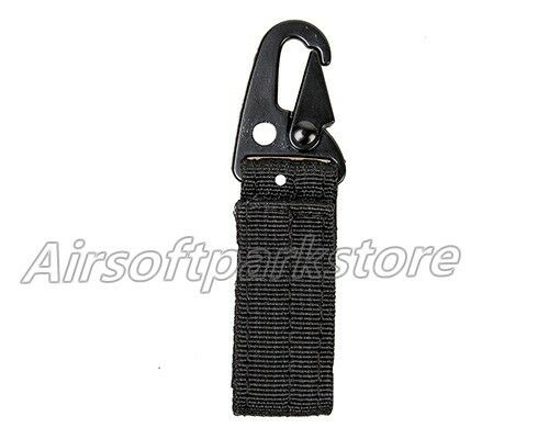 5pcs Airsoft Quick Release QD Buckle w// Metal Hook for Molle Backpack Vest Belt
