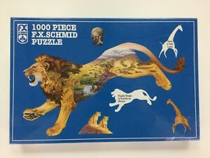 Schmid Piece Of Fx Jigsaw 1000 Pride Puzzle Lion The Plains Wildlife vYb7gyImf6