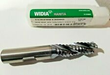 "WIDIA Hanita 1//4/"" Carbide End Mill TiCN Coated 3 Flute USA Made 2842498"