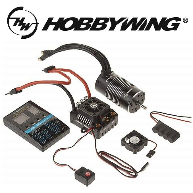 Hobbywing MAX8 ESC Combo w  EZRUN 2200KV Brushless Motor w  Deans Plug
