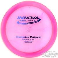 Hot Pink Champion Valkyrie Distance Driver 175g Innova Disc Golf Fast Ship
