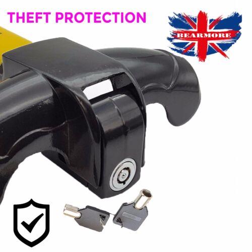 Heavy Duty Steering Wheel Lock Security Clamp Car Van Caravan desk board Lock