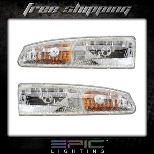 Fits 1996-97 Ford Thunderbird Mercury Cougar Headlight Headlamp Pair Left Right
