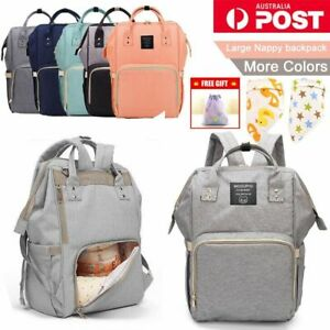 Luxury-Multifunctional-Baby-Diaper-Nappy-Backpack-Waterproof-Mummy-Changing-Bag