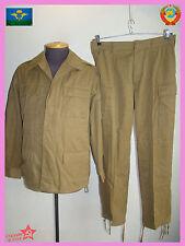Sz.52-3 COTTON AFGANKA Soviet sand camo field uniform kgb gru afghanka