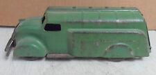 "Vintage Original 1930's Wyandotte Gas/Oil Green Tanker Truck 10 1/2""  x 4"" x 3"""