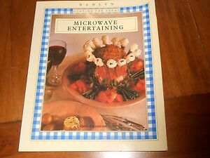 Microwave-Entertaining-Hamlyn-Cooking-For-Today-Paperback-Book