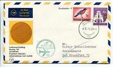 FFC 1972 Lufthansa PRIMO VOLO LH 541 Boeing 747 - Johannesburg Francoforte