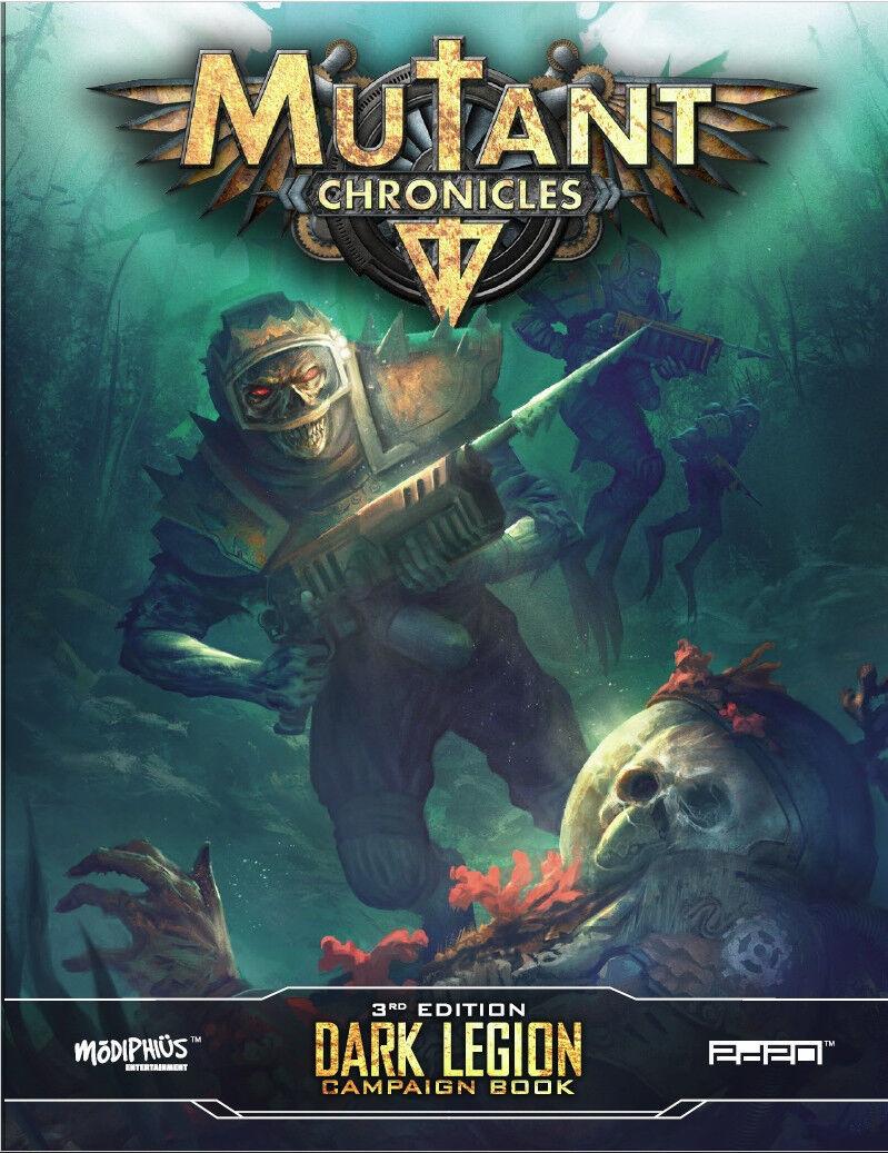 Mutante Chronicles Rpg - Dark Legion Campagna