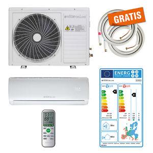 Split Klimaanlage Klimagerät Klima Inverter 9000 BTU R32 2,6 kW A++