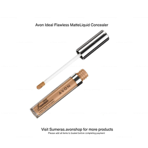 Avon-Ideal-Flawless-Matte-Liquid-Concealer-New-amp-Sealed-Free-P-amp-P-Pick-Shade
