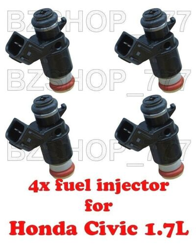 4x OEM Fuel Injectors for 01 02 03 04 05 Honda Civic 1.7L LX EX CX HX