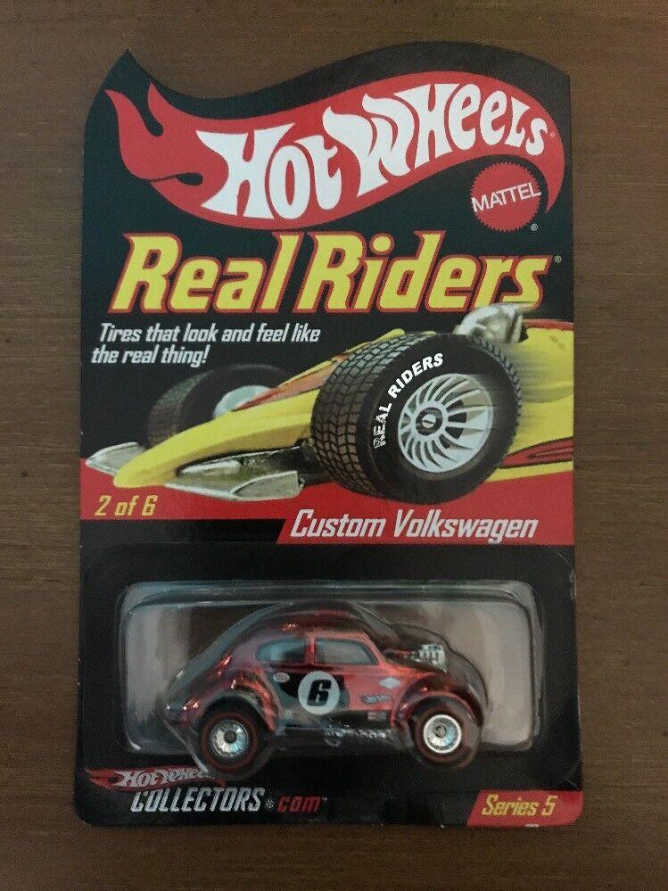la mejor selección de Hot Wheels Personalizado Volkswagen real real real jinetes serie 5 Rojo Rlc  tienda en linea