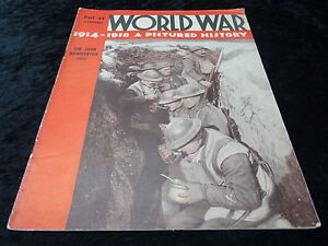 The World War 1914/18 A Pictured History - Part 41 - Pub 1934