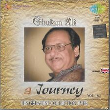 GHULAM ALI - A JOURNEY VOL 1&2 - HIS GREATEST COLLECTION EVER -BOLLYWOOD 2CD SET