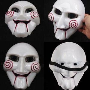 1X-Effrayant-Visage-Masque-Halloween-Horror-Fancy-Dress-Deguisement-Cosplay-Neuf