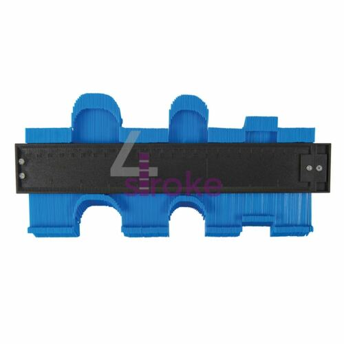 """Profile Gauges 6/"""" Steel High Accuracy 10/"""" Plastic Precision Tiling Template Tool"""
