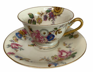 Rosenthal Ivory Bavaria The Sunray Cup and Saucer US Patent No 77867