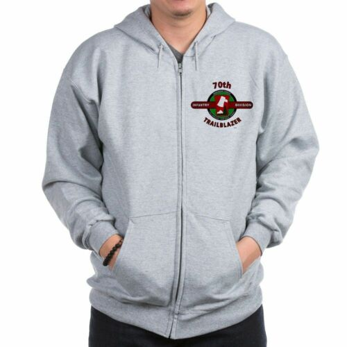 Details about  /70TH INFANTRY DIVISION CAMPAIGNS  2-SIDED LEFT CHEST//BACK EMBLEM ZIPPER HOODIE