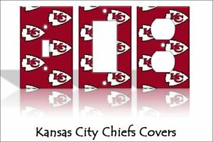 Image Is Loading Kansas City Chiefs Light Switch Covers Football NFL