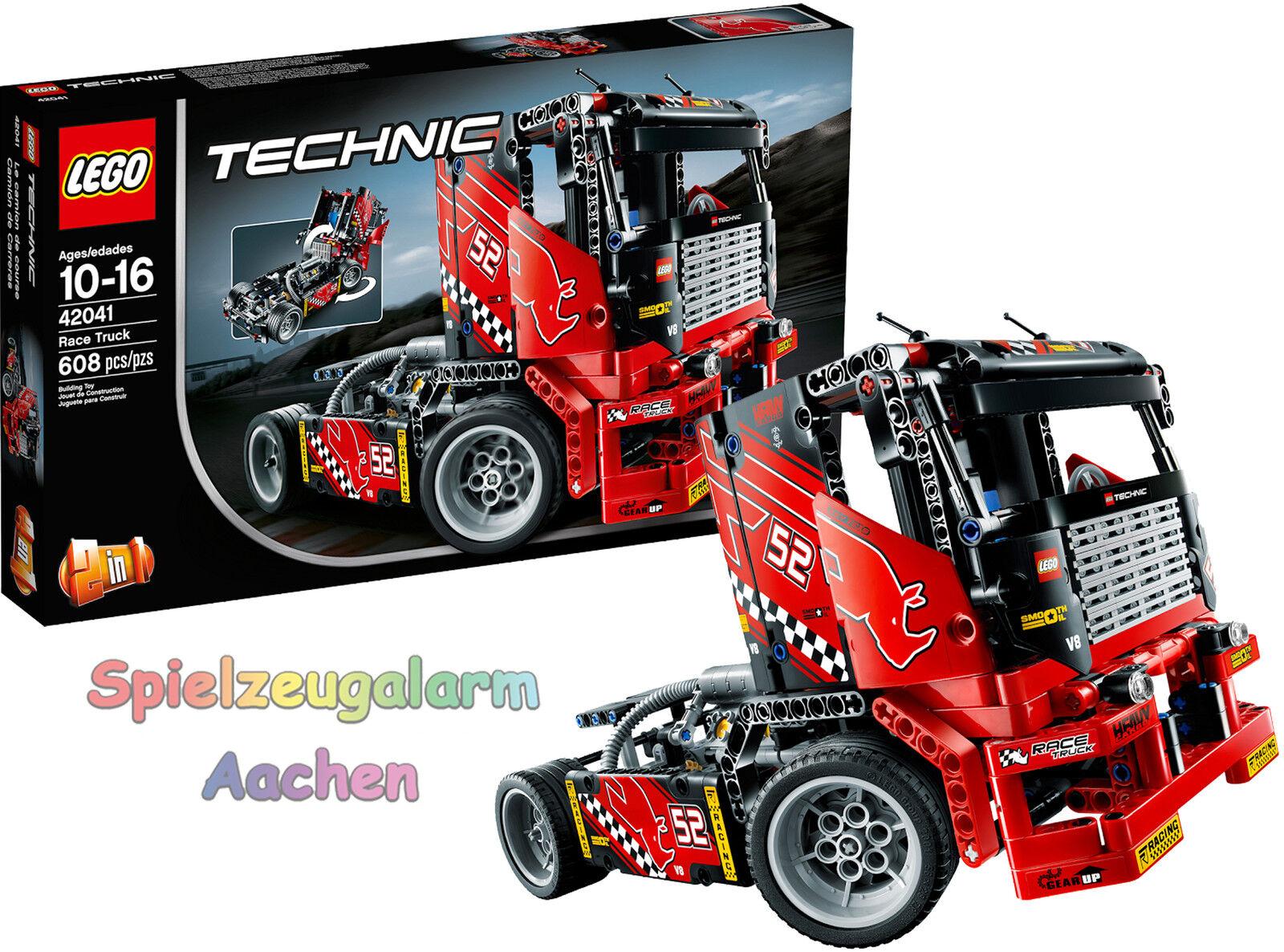 LEGO 42041 technic technic technic renn camion voiture de course 2in1 modèle race le camion de course OVP 7bdbcb